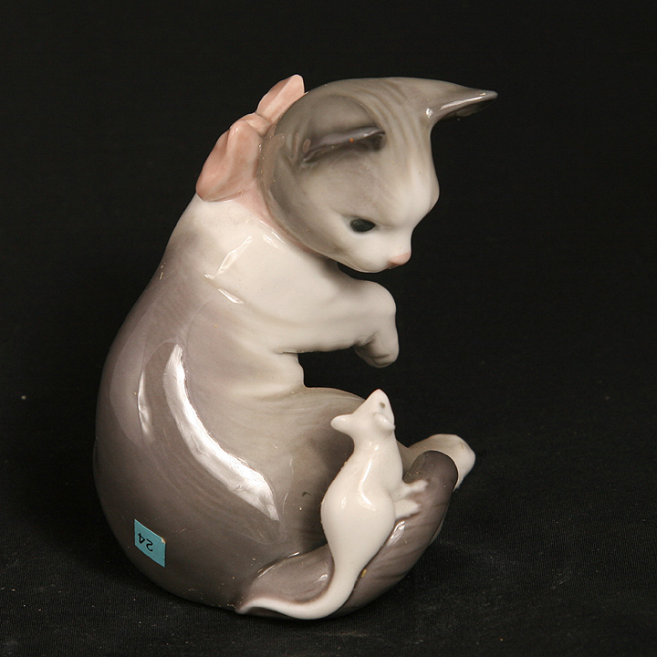 LLADRO CAT AND MOUSE #5236